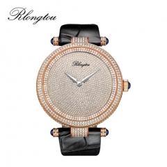 浪陀(Rlongtou)手表璀璨系列 满天星 钻石腕表 女款-玫金色