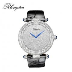 浪陀(Rlongtou)手表璀璨系列 满天星 钻石腕表 女款-白金色