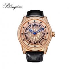 浪陀(Rlongtou)手表 120时来运转系列 时运亨通 钻石腕表 男女款