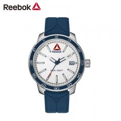 美国Reebok手表 前进1.0邦德系列 双层齿纹设计 尼龙带 蓝色