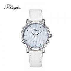 浪陀(Rlongtou)手表 魅蓝系列腕表 白色 电光蓝 男女款 女款-白色