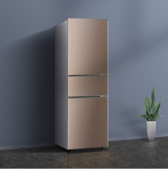 BCD-220T典雅棕 高效压缩机 微冻室-7℃-0℃ 三门冰箱