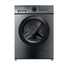 创维洗衣机F7018SU钛灰银高效电机 冰晶内桶设计桶自洁功能 多功能选择
