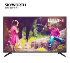 创维(SKYWORTH)43E382W 43英寸2K全高清酒店功能 智能家用商用电视机