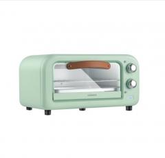 康佳(KONKA)电烤箱 12L迷你烘焙机 家用多功能小烤箱家庭用烤炉家电KAO-1202E(S)L