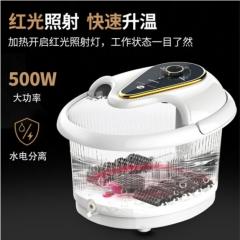康佳足浴盆全自动洗脚器电动按摩加热恒温家用足疗加高深泡脚桶