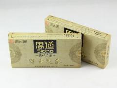 湖南安化黑茶/思道茶业野生茯砖茶/黑茶